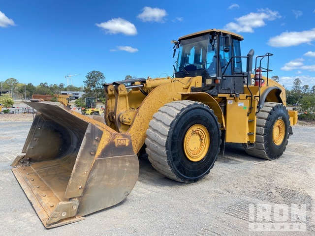 2012 Cat 980H Wheel Loader, Wheel Loader