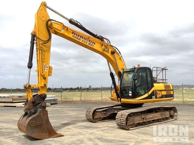 2008 JCB JS220 LC Track Excavator, Hydraulic Excavator