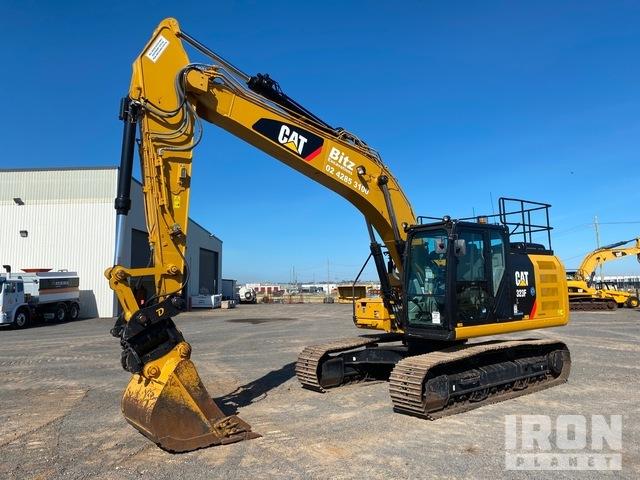 2017 Cat 323F L Track Excavator, Hydraulic Excavator