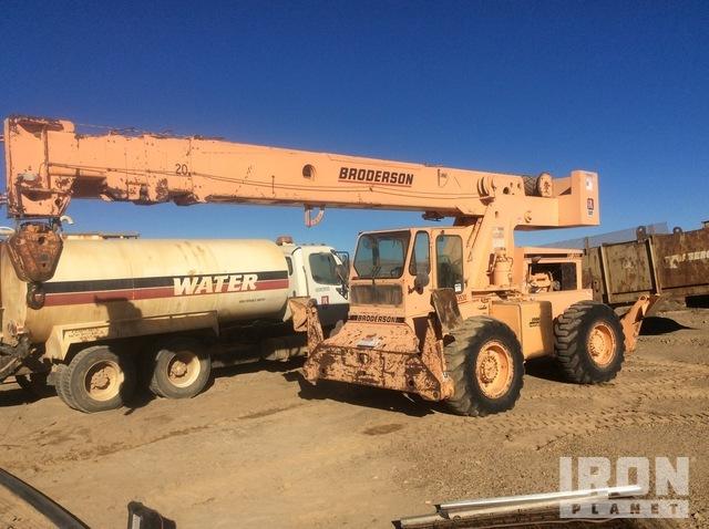 Broderson RT3002A 30,000 lb 4x4 Rough Terrain Crane, Rough Terrain Crane