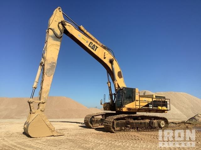 1996 Cat 375L Track Excavator, Hydraulic Excavator