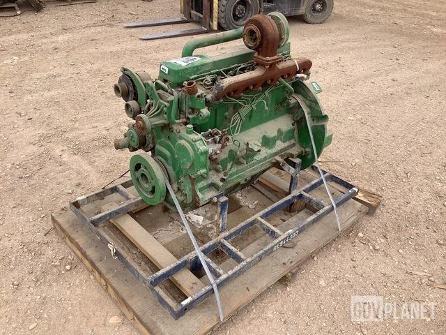 John Deere 6068TF151 Turbo Diesel Engine, Engine