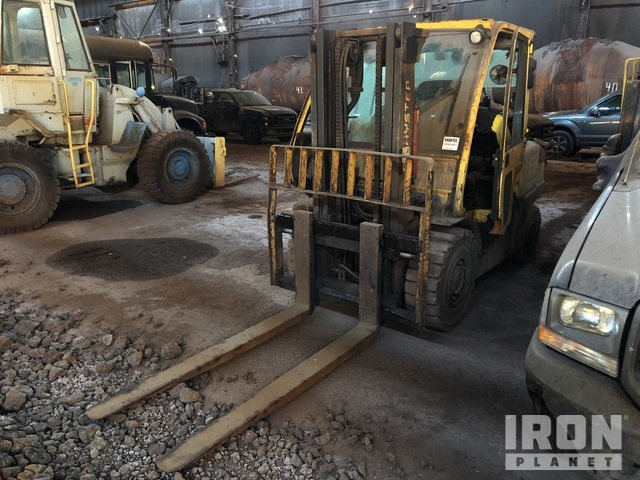 2007 Hyster H100FT 10400 lb Pneumatic Tire Forklift, Parts/Stationary Construction-Other