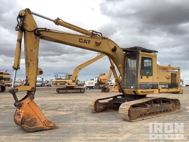 1987 Cat 225B LC Track Excavator, Hydraulic Excavator