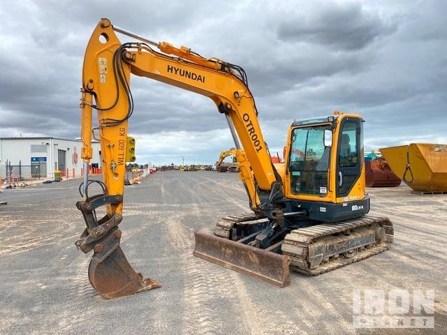 Hyundai Robex 80CR-9 Track Excavator, Hydraulic Excavator