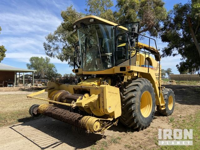 2001 New Holland FX58A Self Propelled Forage Harvester, Forage Harvester