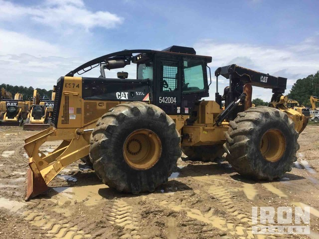2008 Cat 535C Wheel Skidder, Skidder