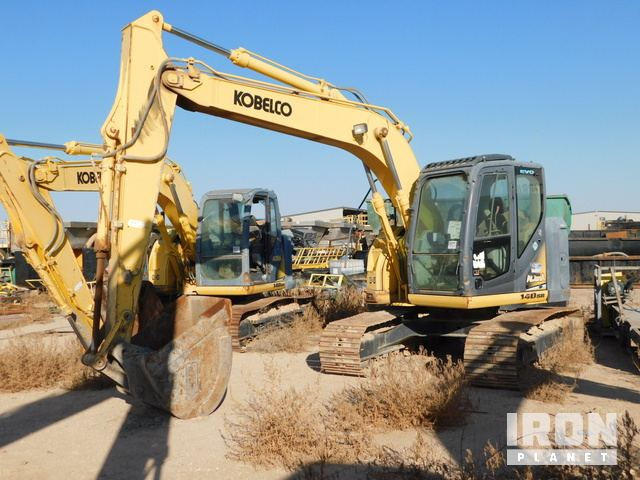Kobelco 140SR Track Excavator (INOP), Hydraulic Excavator