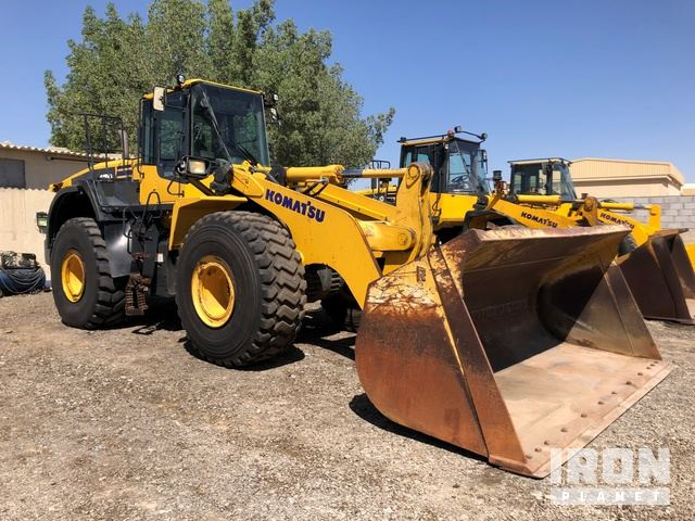 2014 Komatsu WA470-7 High Lift Wheel Loader, Wheel Loader