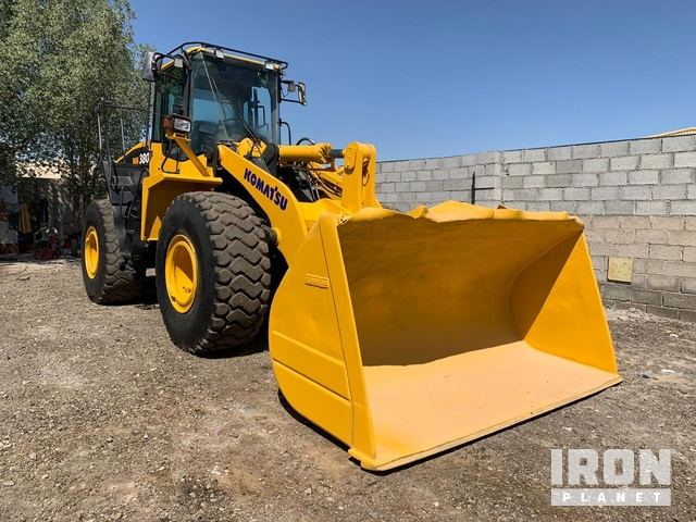 2015 Komatsu WA380-7 High Lift Wheel Loader, Wheel Loader