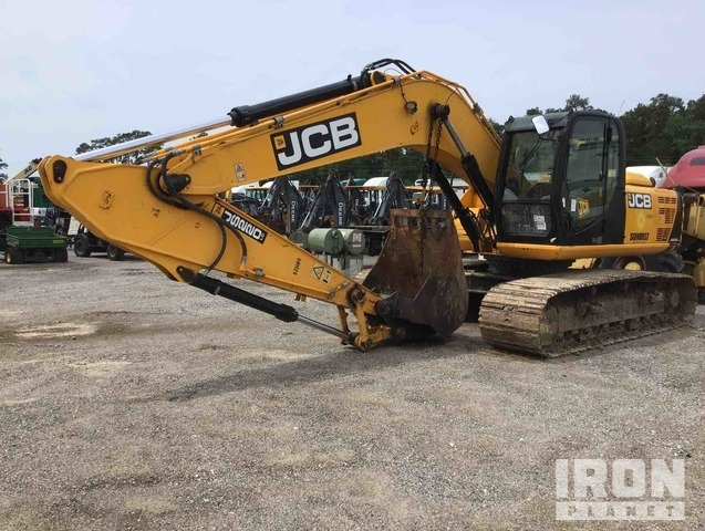 2016 JCB JS220LC Track Excavator, Hydraulic Excavator