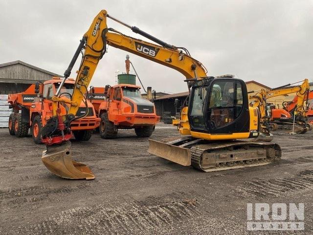 2012 JCB JZ140LG Track Excavator, Hydraulic Excavator