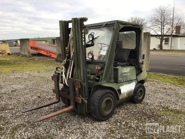 1988 Still DFG 2/4002 Pneumatic Tire Forklift, Forklift