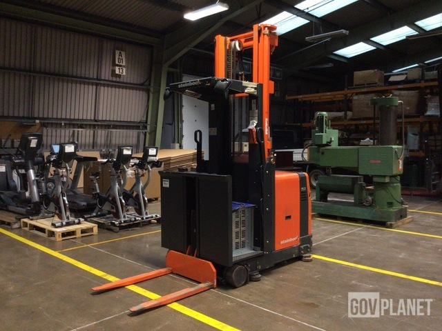 2001 Steinbock WK10RL-15210 Order Picker, Electric Forklift