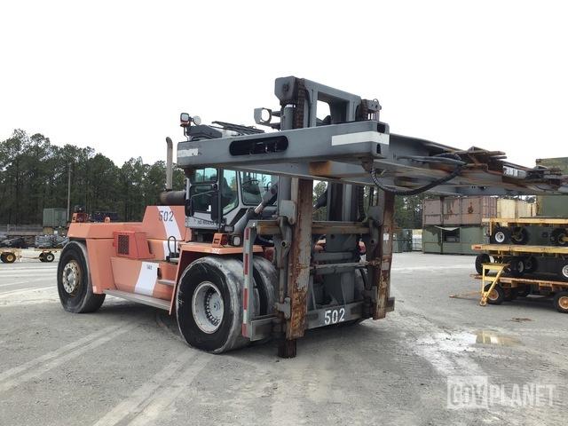 Kalmar DCD320-12 Container Handler, Container Handler