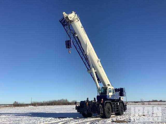 2013 Tadano GR-1000-2-00201 100 ton 4x4x4 Rough Terrain Crane, Rough Terrain Crane