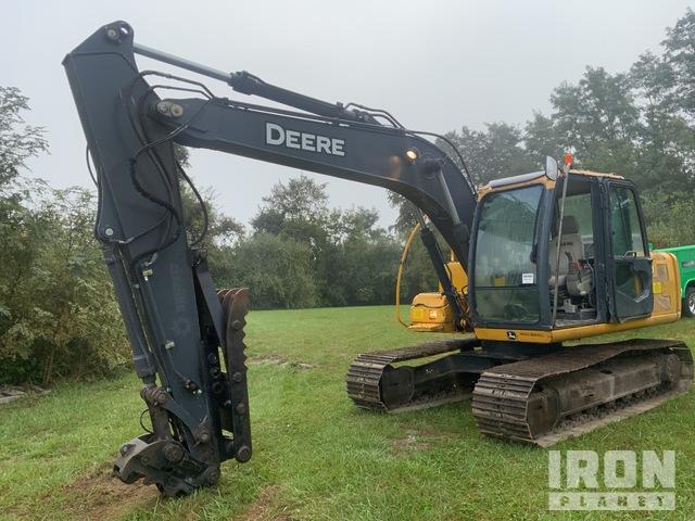 2012 John Deere 120D Track Excavator, Hydraulic Excavator