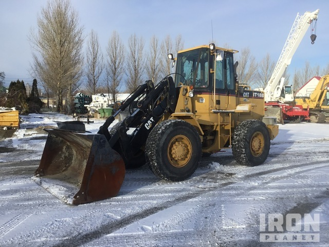 1989 Cat IT18B Tool Carrier, Integrated Tool Carrier