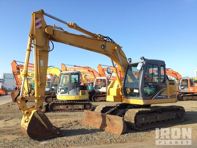 2016 年 Kato HD513MR-6 Track Excavator, Hydraulic Excavator