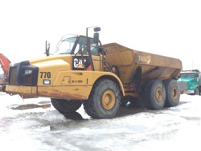 2012 Cat 740B 6x6 Articulated Dump Truck, Articulated Dump Truck
