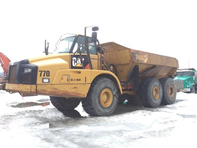 2012 Cat 740B 6x6 Articulated Dump Truck, Articulated Dump Truck
