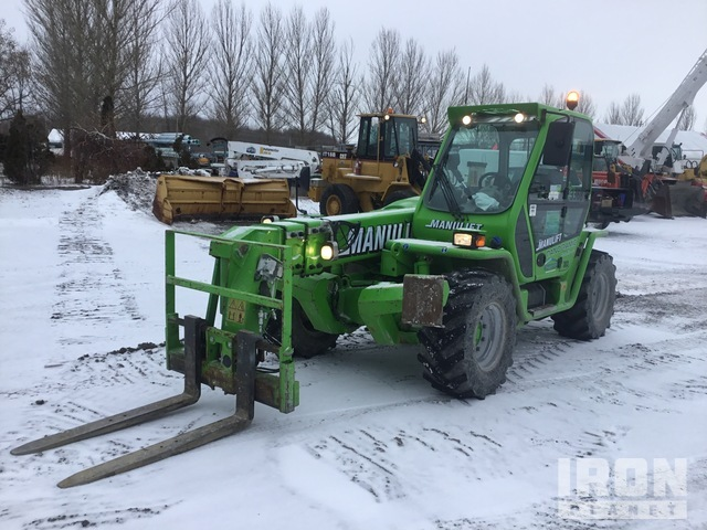 2018 Merlo P38.13 Plus 4x4x4 3800 kg Telehandler, Telescopic Forklift