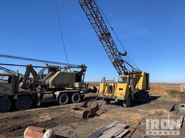 Crane Truck 150-T46 M62 Dragline