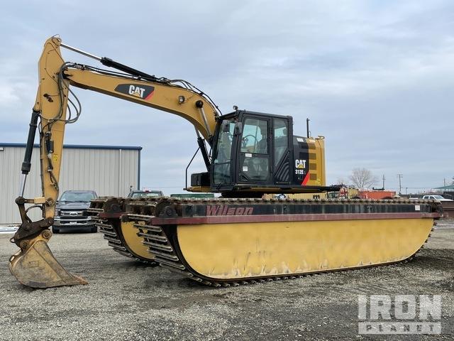 2015 Cat 312EL Amphibious Excavator