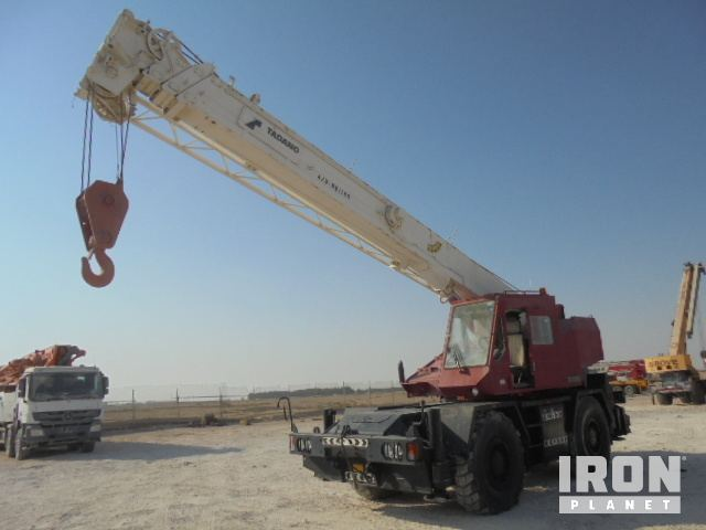 1997 (unverified) Tadano TR250EX Rough Terrain Crane, Rough Terrain Crane