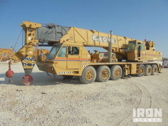 1991 (unverified) Grove TM8100 All Terrain Crane, All Terrain Crane