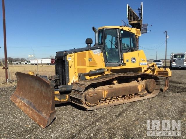 2013 John Deere 850K WLT Crawler Dozer, Crawler Tractor