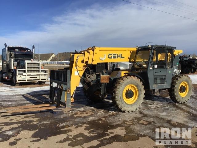 2018 Gehl RS10-55 Gen-3 4x4x4 10000 lb Telehandler, Telescopic Forklift