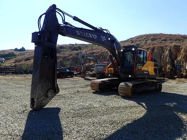 2019 Volvo EC220EL Track Excavator, Hydraulic Excavator