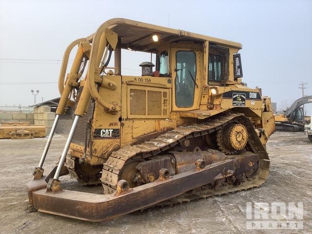 1993 Cat D8N Crawler Dozer, Crawler Tractor