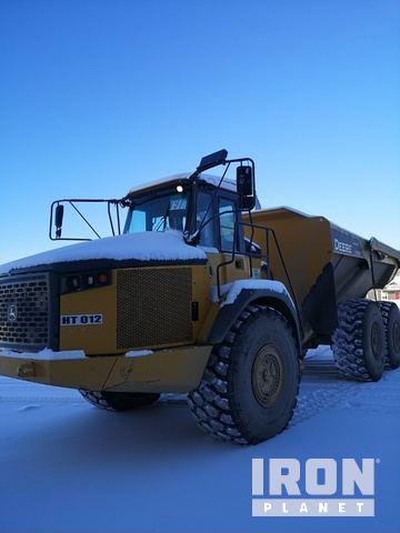 2014 John Deere 370E 6x6 Articulated Dump Truck, Articulated Dump Truck