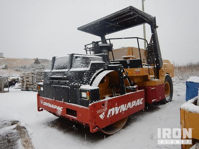 1997 Dynapac CC501C Vibratory Double Drum Roller, Roller