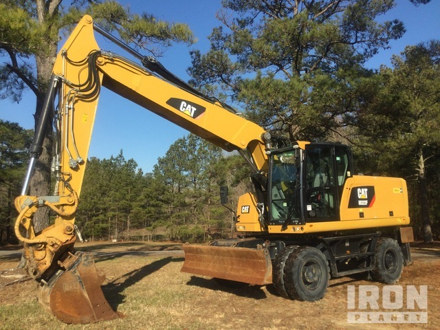 2016 Cat M322F Wheel Excavator, Mobile Excavator