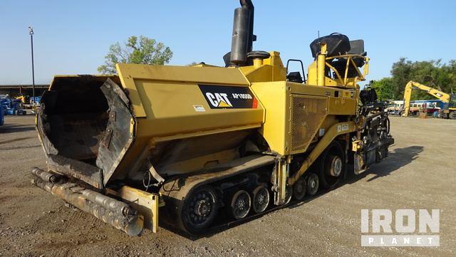 2011 Cat AP-1055D Track Asphalt Paver, Asphalt Paver