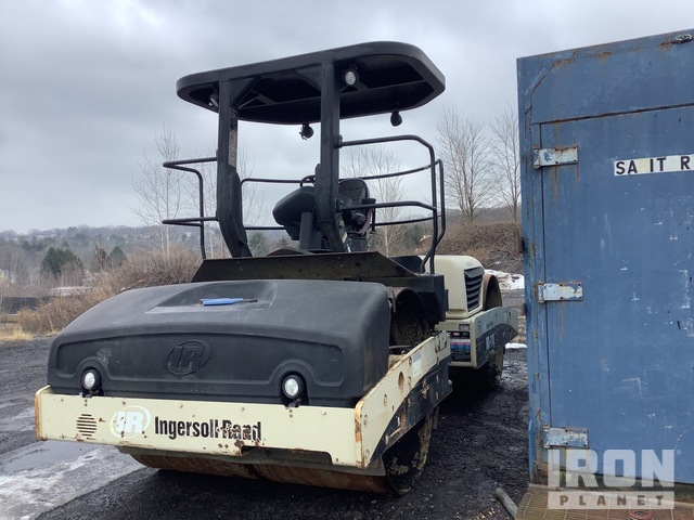 2004 Ingersoll-Rand DD-118HA Vibratory Double Drum Roller, Roller