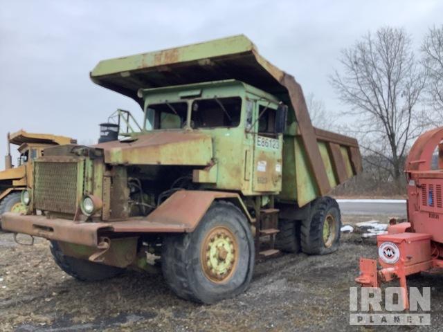 Euclid Off-Road End Dump Truck, Rock Truck