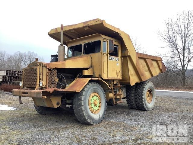 Euclid 103FD Off-Road End Dump Truck, Rock Truck