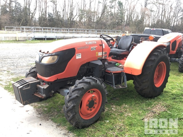 Kubota M9960D 4WD Tractor, MFWD Tractor