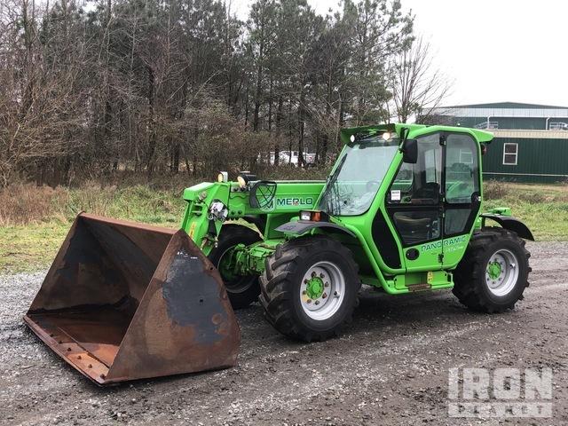 2015 Merlo 4x4 7000 Lb Telehandler, Telescopic Forklift
