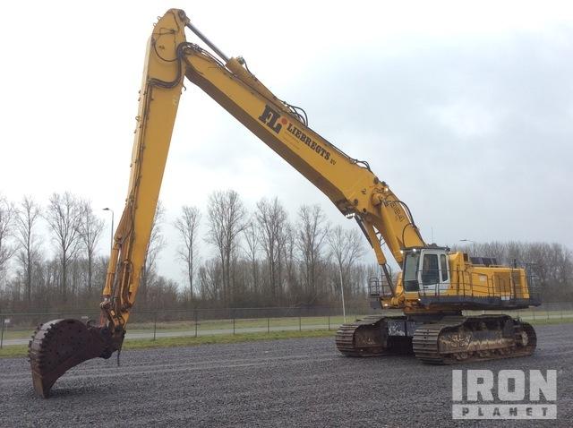 2000 Liebherr R984C Long Reach Excavator, Hydraulic Excavator
