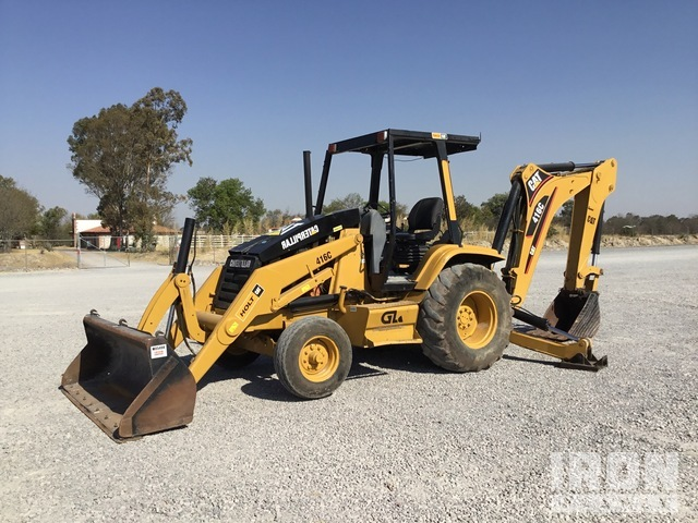 1997 Cat 416C 4x2 Backhoe Loader, Loader Backhoe
