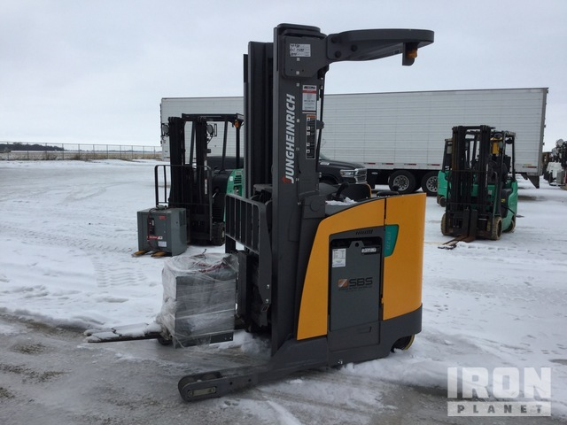 Jungheinrich ETR235 3500 lb Electric Forklift, Electric Forklift