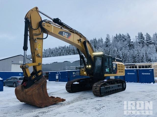 2016 Caterpillar 352F VG Track Excavator, Hydraulic Excavator