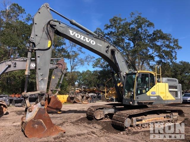 2016 Volvo EC380EL Track Excavator, Hydraulic Excavator