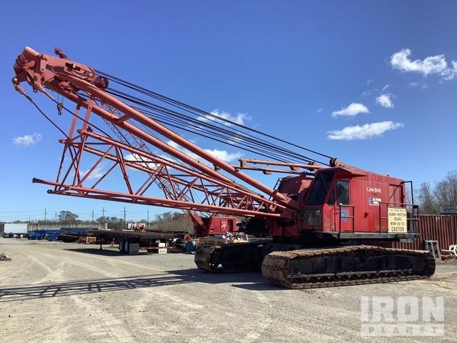Link-Belt LS418A 233000 lb Lattice-Boom Crawler Crane, Crawler Crane