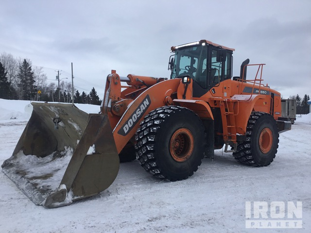 2013 (unverified) Doosan DL550-3 Wheel Loader, Wheel Loader
